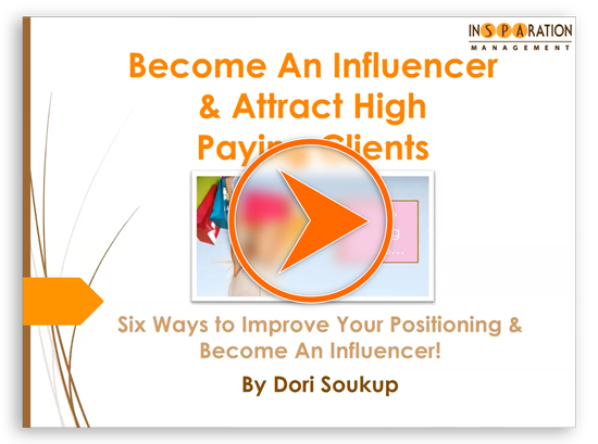 Become an Influencer Webinar